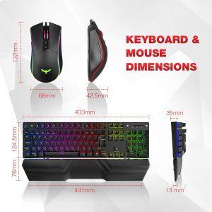 El mejor teclado con luces