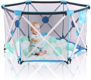 el mejor parque plegable para bebes